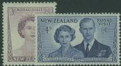 NZ SG721-2 Royal Visit set of 2